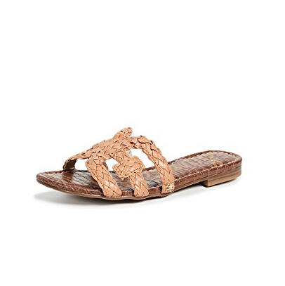 Sam Edelman Beckie Slide Sandals 编织皮革凉鞋 $45(约310元)
